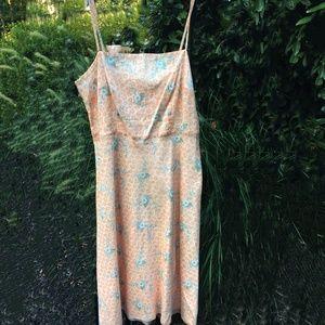 J. Crew  |  Lined Floral Print Dress